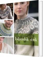 islandsk strik - bog