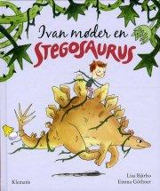 ivan møder en stegosaurus - bog