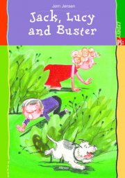 kommas easy reading: jack, lucy and buster - bog