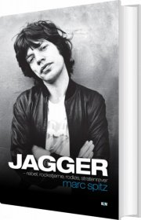 jagger - rockstjerne og rebel - bog