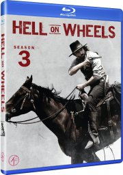 hell on wheels - sæson 3 - Blu-Ray