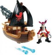 jake & neverland pirates - hooks battle boat (w5264) - Figurer