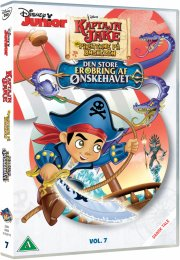 jake og piraterne på ønskeøen - den store erobring af ønskehavet - DVD
