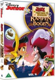 jake og piraterne på ønskeøen - kampen om bogen - DVD
