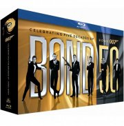james bond box set - 1-23 - 50 års jubilæumsboks - Blu-Ray