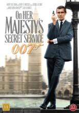 james bond i hendes majestæts hemmelige tjeneste - DVD