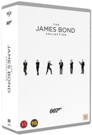 james bond collection - 1-24 box - DVD