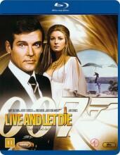 James Bond: Live And Let Die / James Bond: Lev Og Lad Dø - Blu-Ray