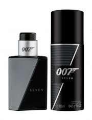 gaveæske: james bond seven eau de toilette 30 ml & deodorant spray 150 ml - Parfume