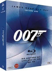 james bond - die another day // live and let die // dr. no - Blu-Ray