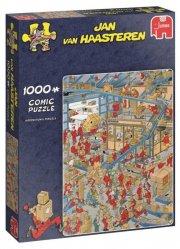 puslespil jan van haasteren - 1000 brikker - international postcentral - Brætspil
