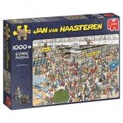puslespil jan van haasteren - 1000 brikker - afgangshal - Brætspil