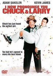 jeg erklærer jer nu for chuck og larry / i now pronounce you chuck and larry - DVD
