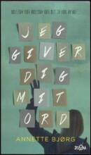 jeg giver dig mit ord - bog