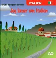jeg læser om italien - bog