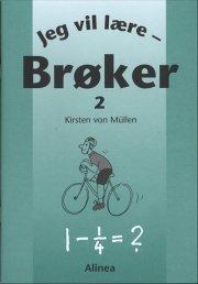 jeg vil lære, brøker 2 - bog