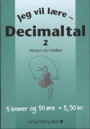 jeg vil lære, decimaltal 2 - bog