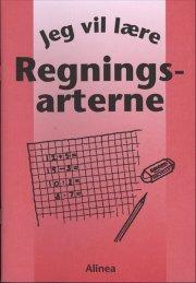 jeg vil lære, regningsarterne - bog