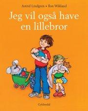 jeg vil også have en lillebror - bog