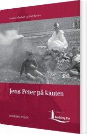 jens peter på kanten - bog