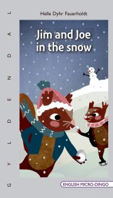 jim and joe in the snow - bog