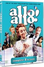 allo allo - sæson 2 - bbc - DVD