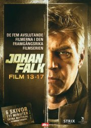 johan falk boks - film 13-17 - DVD