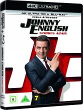 johnny english strikes again / johnny english slår til igen - 4k Ultra HD Blu-Ray
