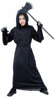 døden kostume str. 158-164 - Udklædning
