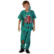 zombie doktor kostume str. 122-134 - Udklædning