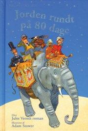 jorden rundt på 80 dage - bog