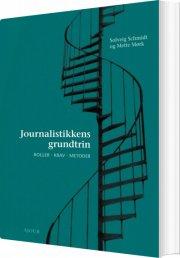 journalistikkens grundtrin - bog
