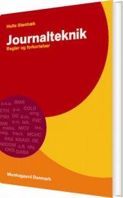 journalteknik - bog