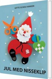 jul med nisseklip - bog