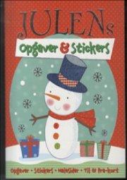 julens opgaver og stickers - Kreativitet