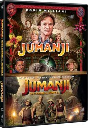 jumanji 1 // jumanji 2 - welcome to the jungle 2017 - DVD