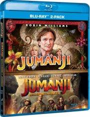 jumanji 1 // jumanji 2 - welcome to the jungle 2017 - Blu-Ray