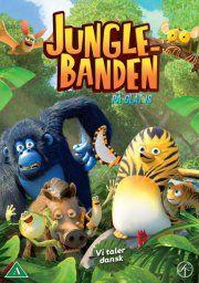 junglebanden - på glat is - DVD