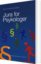 jura for psykologer - bog