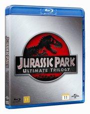 jurassic park 1-3 collection / boks - Blu-Ray