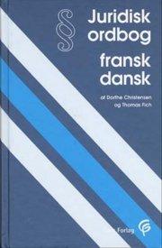 juridisk ordbog fransk-dansk - bog