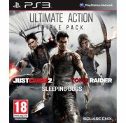 just cause 2, sleeping dogs & tomb raider bundle - PS3
