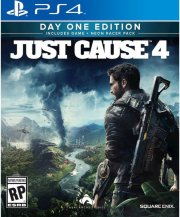 just cause 4 day one edition - PS4