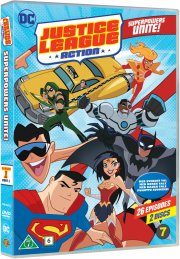 justice league action - sæson 1 - vol. 1 - DVD