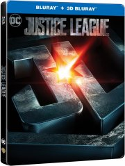 justice league the movie - steelbook 2017 - 3D Blu-Ray