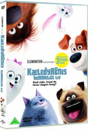kæledyrenes hemmelige liv / the secret life of pets - DVD