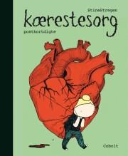 kærestesorg - postkortdigte - Tegneserie
