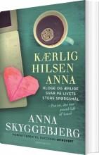 kærlig hilsen anna - bog