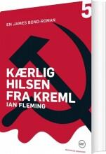kærlig hilsen fra kreml - bog