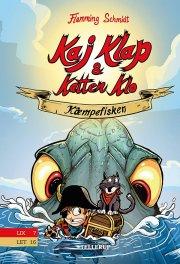 kaj klap & katten klo #1: kæmpefisken - bog